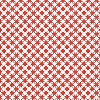 Lunch napkins Star pattern red