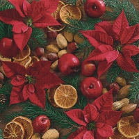 Lunch napkins Xmas arrangement