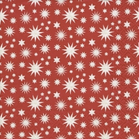 Napkins 33x33 cm - A lot of stars red