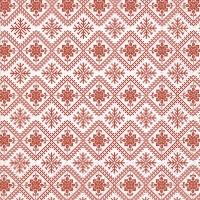 Napkins 33x33 cm - Winter pattern