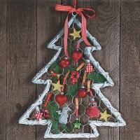 Napkins 33x33 cm - Handicraft tree