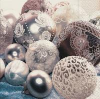 Lunch Servietten White balls
