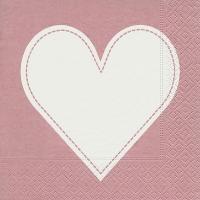 Lunch Servietten Heart rose