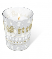 glass candle - Golden Village
