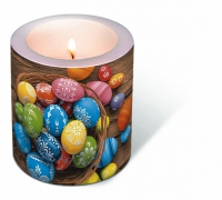 Bougies Candle Dyed eggs
