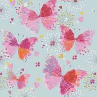 Servilletas Lunch Primavera butterflies