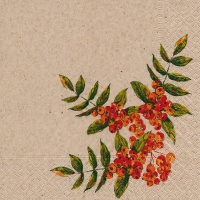 Lunch napkins Rowan berry