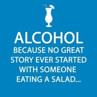 Cocktail Servietten Alcohol Story
