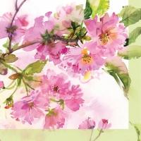 Cocktail Servietten Pink Cherry Blossom