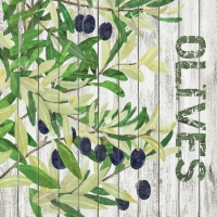 Cocktail napkins Harvest Olives