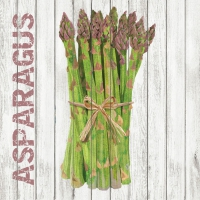 Serviettes cocktail  Harvest Asparagus