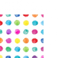 Serviettes cocktail  Aquarell Spots