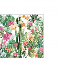 Cocktail napkins Cactus Fantasy