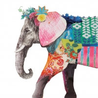 Serviettes cocktail  Regalia Elephant