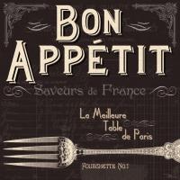 Lunch Servietten Table de Paris
