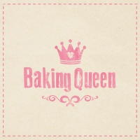 Lunch Servietten Baking Queen