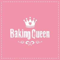 Lunch Servietten Baking Queen pink
