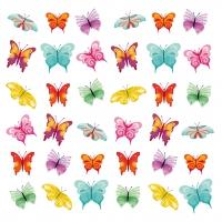 Lunch Servietten Butterflies Collage