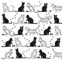 Serviettes lunch Cats & Cats