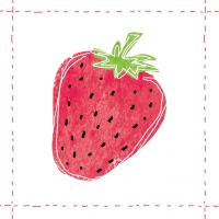 Lunch napkins Fashion Strawberry