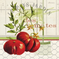 Lunch napkins Les Tomates