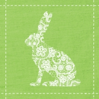 Lunch napkins Flowers Rabbit