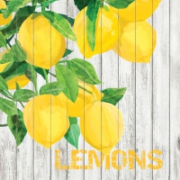 Lunch Servietten Harvest Lemons