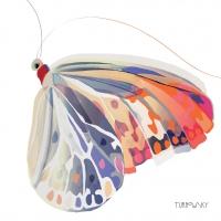 Lunch Servietten Corfu Butterfly