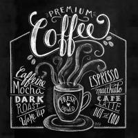 Serviettes lunch Blackboard Coffee