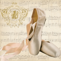 Lunch napkins Concerto Ballet