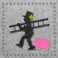 Lunch napkins Felt Chimney Sweeper