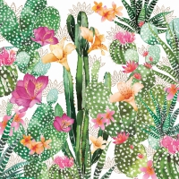 Lunch napkins Cactus Fantasy