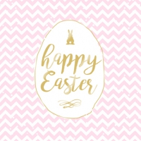 Lunch napkins Easter Chevron