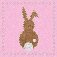 Lunch napkins Bunny felt
