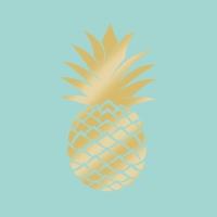 Lunch Servietten Pineapple