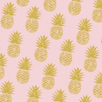 Lunch napkins Pineapple