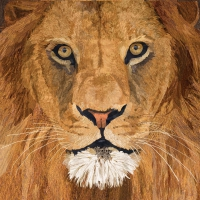 Lunch napkins Sauvage Lion