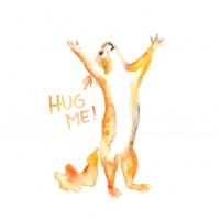 Lunch Servietten Hug Me!