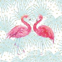 Lunch Servietten Flamingo Fantasy