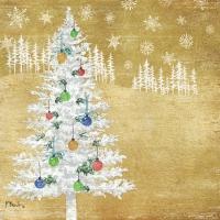 Serwetki 25x25 cm - Drzewo leśne Drzewo