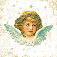 Lunch napkins Vintage Angel