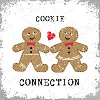 Lunch Servietten Cookie Connection