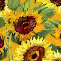 Lunch napkins Girasole Bouquet