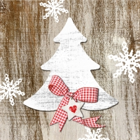 Lunch napkins Country Xmas Tree 2