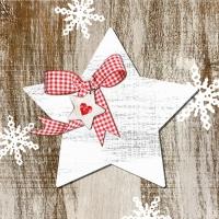 Serviettes de table 33x33 cm - Pays Noël