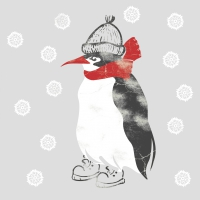 Lunch napkins Winter Penguin