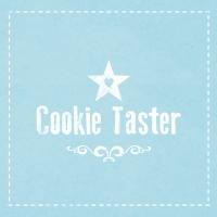 Lunch Servietten Cookie Taster blue