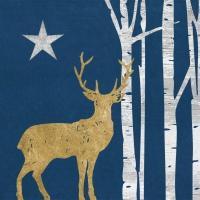 Serwetki 33x33 cm - Mistyk jelenia