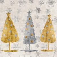 Lunch Servietten Holiday Trees