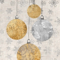 Lunch napkins Holiday Ornaments